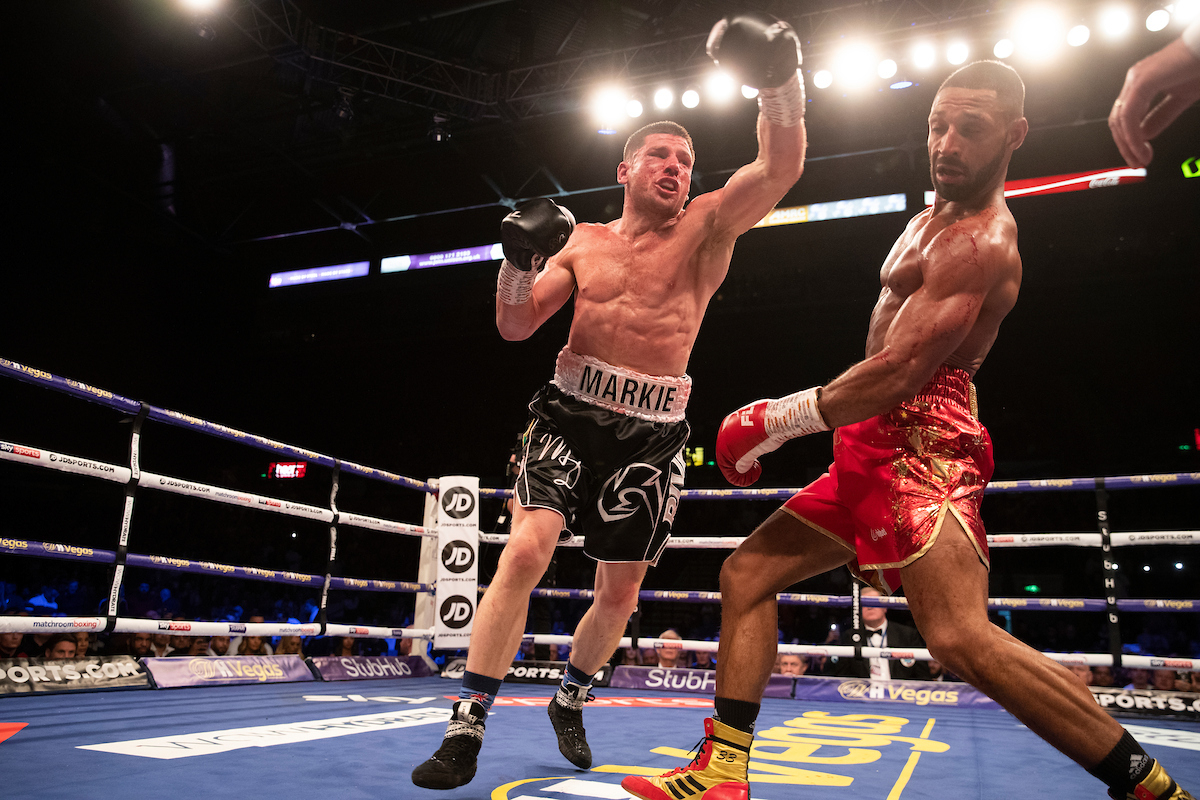 Kell Brook vs Mark DeLuca (Mark Robinson/Matchroom Boxing)