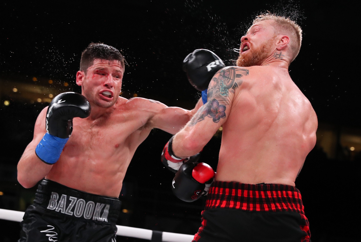 Mark DeLuca insists he is more than just a puncher