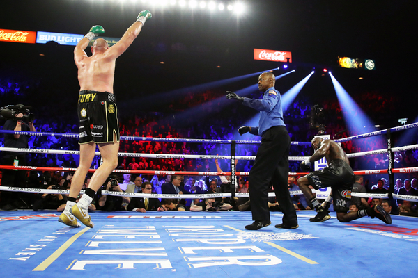 Tyson Fury dominates Deontay Wilder to win WBC title in rematch