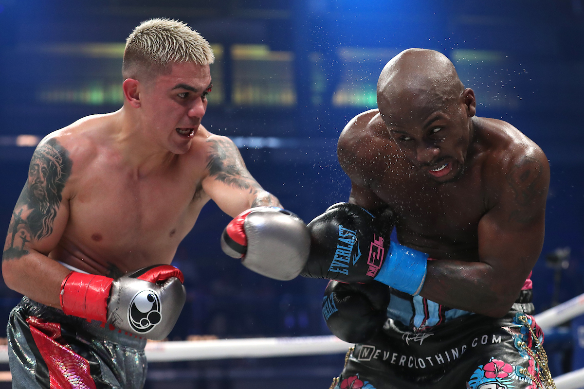 Tevin Farmer vs Jojo Diaz (Ed Mulholland/Matchroom Boxing USA)
