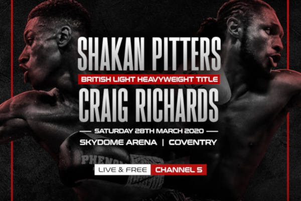 Shakan Pitters vs Craig Richards confirmed for Coventry as 'Spider' vows to knock him all the way to Big Ben