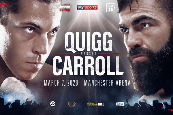 Scott Quigg vs Jono Carroll: I'm looking forward to taking him apart