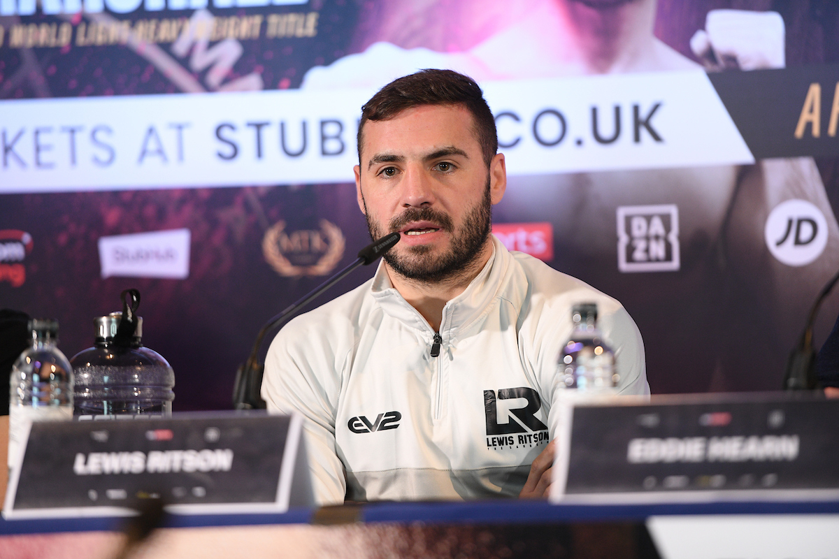 Lewis Ritson will meet Miguel Vazquez next