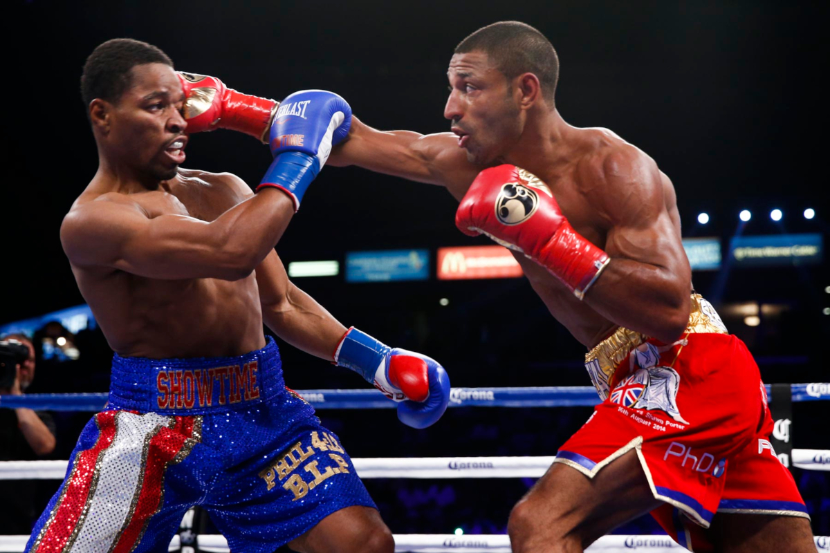Shawn Porter vs Kell Brook (Esther Lin/Showtime)