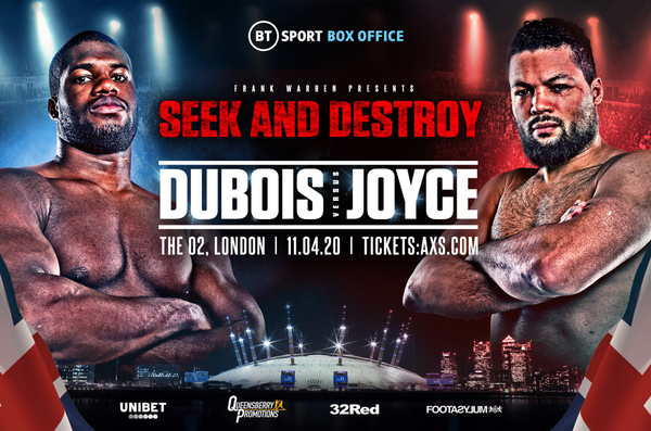 Daniel Dubois vs Joe Joyce not under threat from Coronavirus
