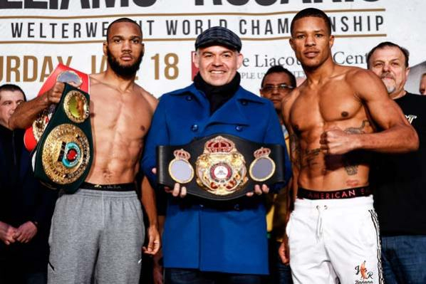 Julian Williams vs Jeison Rosario weights, TV channels (UK) & undercard