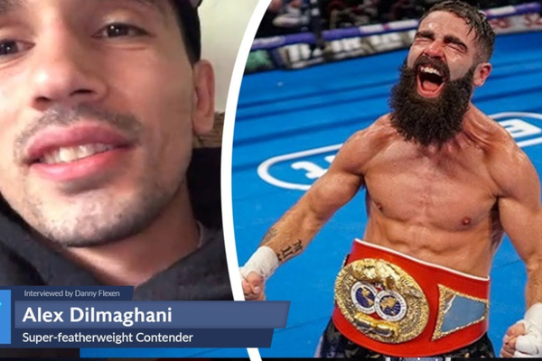Jono Carroll showdown suggested by Alex Dilmaghani - 'It'd be a great fight'