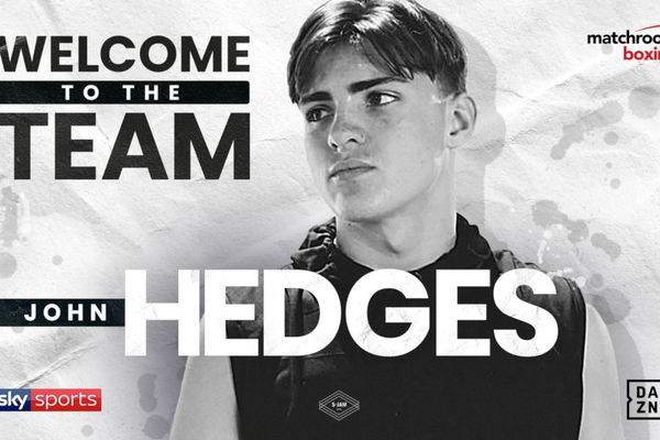 John Hedges, 6ft 5in amateur prodigy, joins Eddie Hearn and Matchroom