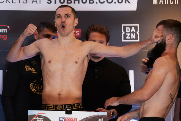 Scott Quigg vs Jono Carroll weights, TV channel, fight time & undercard