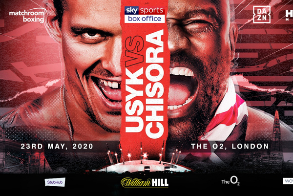 Oleksandr Usyk vs Dereck Chisora confirmed for Sky Sports Box Office