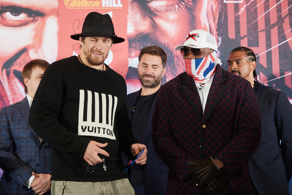 Dereck Chisora: After I beat Oleksandr Usyk I'll challenge Anthony Joshua