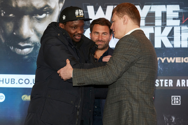 'If Dillian Whyte was with me, he would have fought for a world title by now,' says Frank Warren