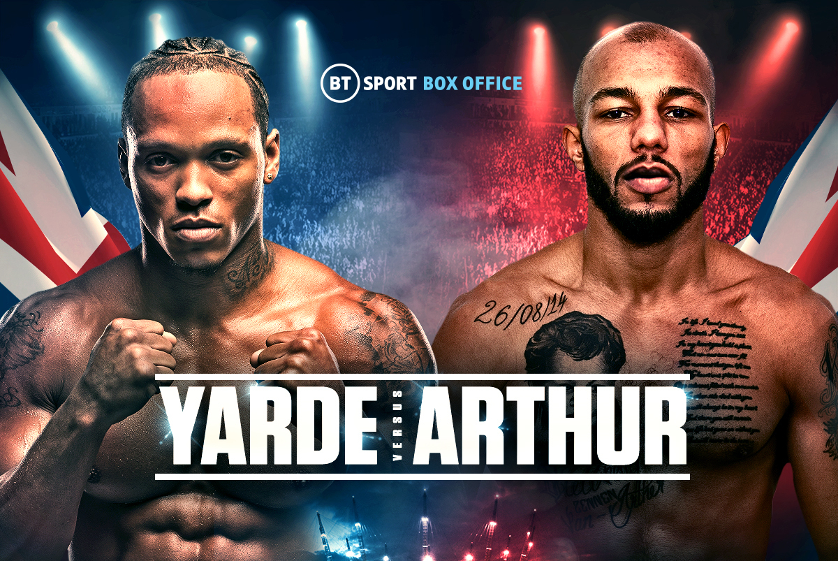 Anthony Yarde vs Lyndon Arthur