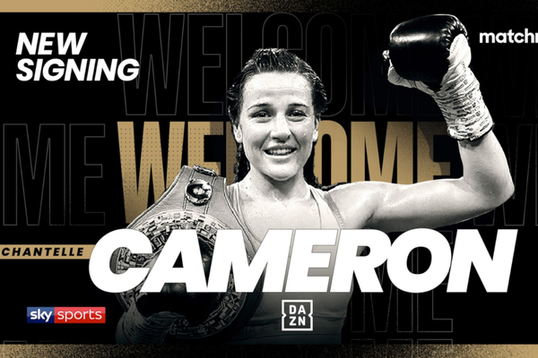 Chantelle Cameron: Why I joined Eddie Hearn and Matchroom