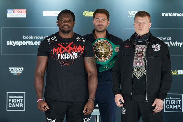 Alexander Povetkin vs Dillian Whyte 2 the highlight of Eddie Hearn schedule