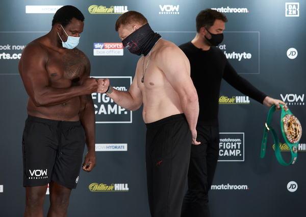 Dillian Whyte vs Alexander Povetkin weights, TV channel, running order & undercard