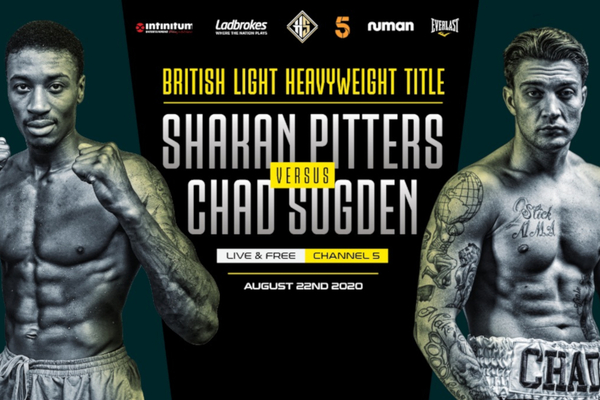 Freeview boxing back in August with Shakan Pitters vs Chad Sugden