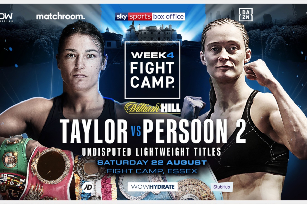 Katie Taylor vs Delfine Persoon rematch