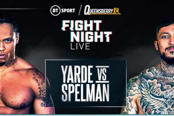 Anthony Yarde vs Dec Spelman tops big night of boxing also featuring Mark Heffron vs Denzel Bentley