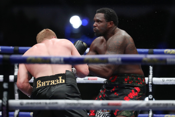 Alexander Povetkin vs Dillian Whyte bags Punch of the Year honours