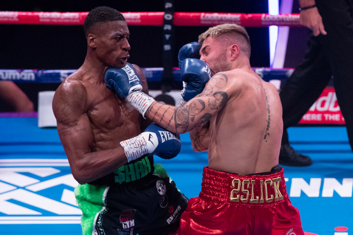 Shakan Pitters defeats Chad Sugden (Hennessy Sports)
