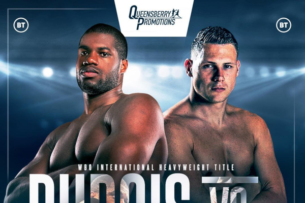 Daniel Dubois vs Ricardo Snijders weights, TV channel, running order & undercard