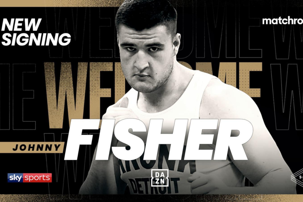 Johnny Fisher joins Eddie Hearn and Matchroom