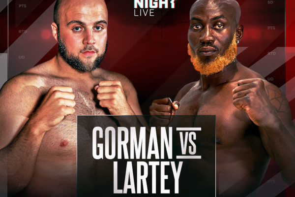 Nathan Gorman vs Richard Lartey postponed from Anthony Yarde show this weekend