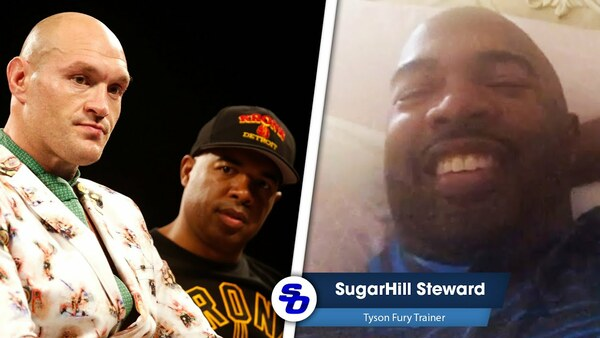 Exclusive: TRAINER SUGARHILL IN TYSON FURY UK HOME: 'I'm family here'