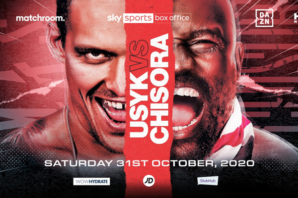 Oleksandr Usyk vs Dereck Chisora finally confirmed, for Halloween