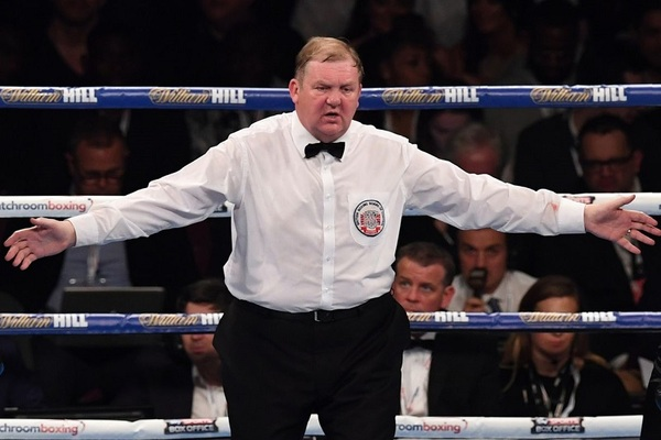 Terry O'Connor, controversial judge, called before the British Boxing Board of Control