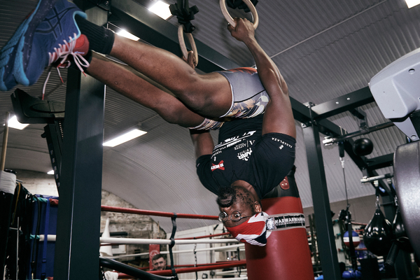 Dereck Chisora training like a beast for Oleksandr Usyk (PHOTOS)