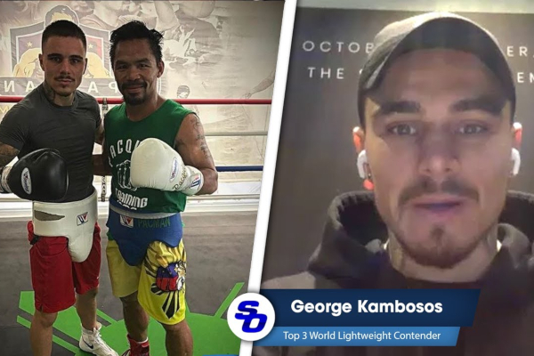 Lessons learned from Manny Pacquiao - from George Kambosos Jr