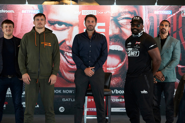 Povetkin vs Whyte 2, Usyk vs Chisora, Joshua vs Pulev radio coverage confirmed