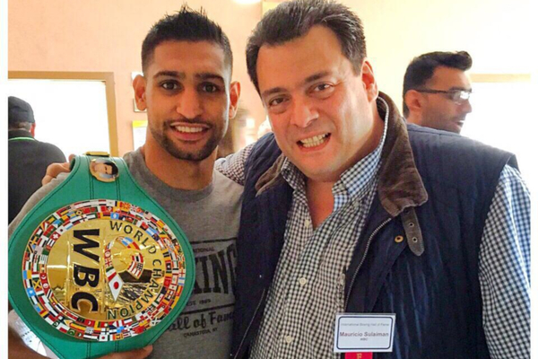 Amir Khan becomes President, boxer 'Absolutely thrilled'