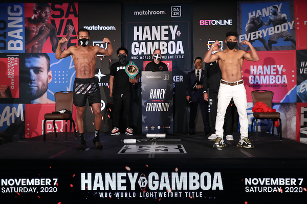 Devin Haney vs Yuriorkis Gamboa weights, TV channel, running order & undercard