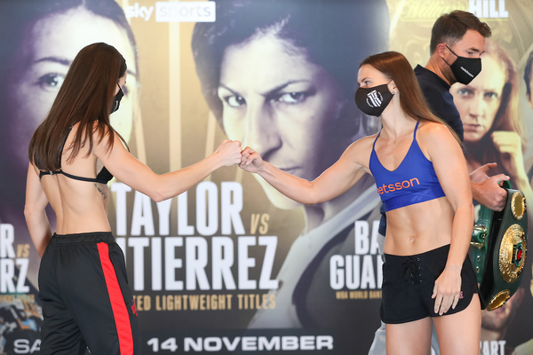 Katie Taylor vs Miriam Gutierrez weights, TV channel, running order & undercard