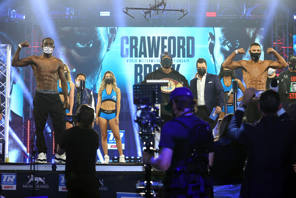 Terence Crawford vs Kell Brook weights, TV channel, running order & undercard