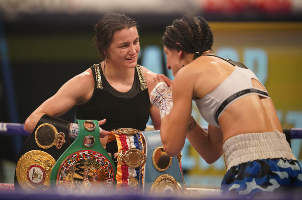 Katie Taylor leads female triple-header to over 2m views