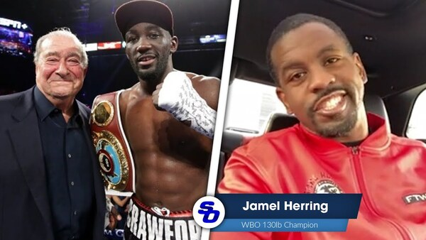 'ARUM & CRAWFORD WILL COME TOGETHER,' Jamel Herring + FRAMPTON LATEST