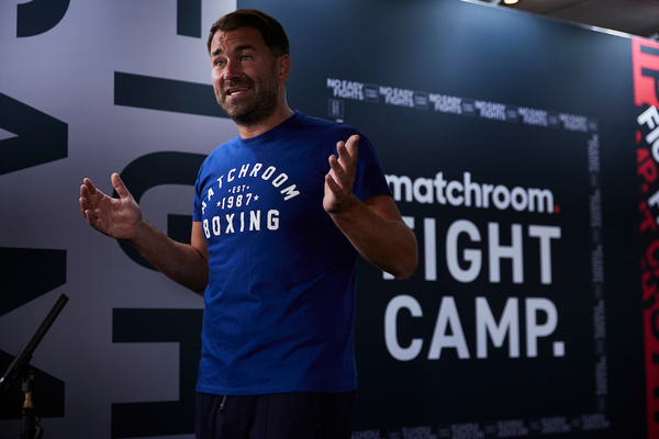 Eddie Hearn: 'Daniel Dubois is a complete novice; Joe Joyce gets hit a lot'