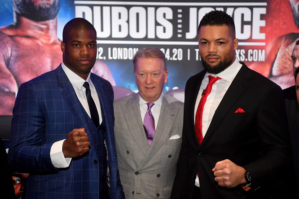 Frank Warren defends Eddie Hearn over Anthony Joshua ppv price
