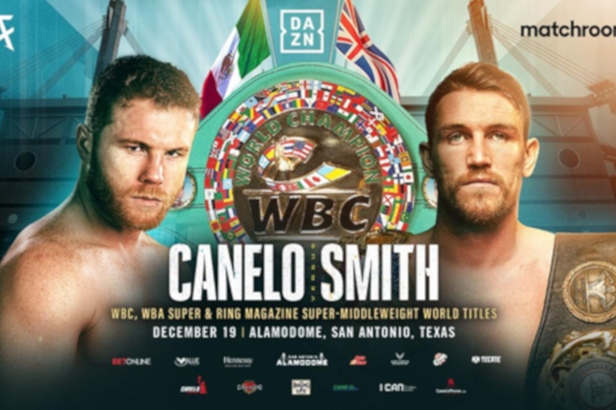 Canelo vs Callum Smith now for the WBC title