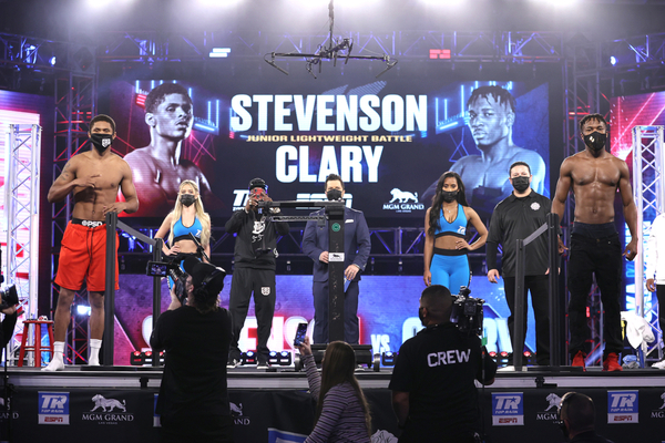 Shakur Stevenson vs Toka Kahn Clary weights, TV channel, running order & undercard
