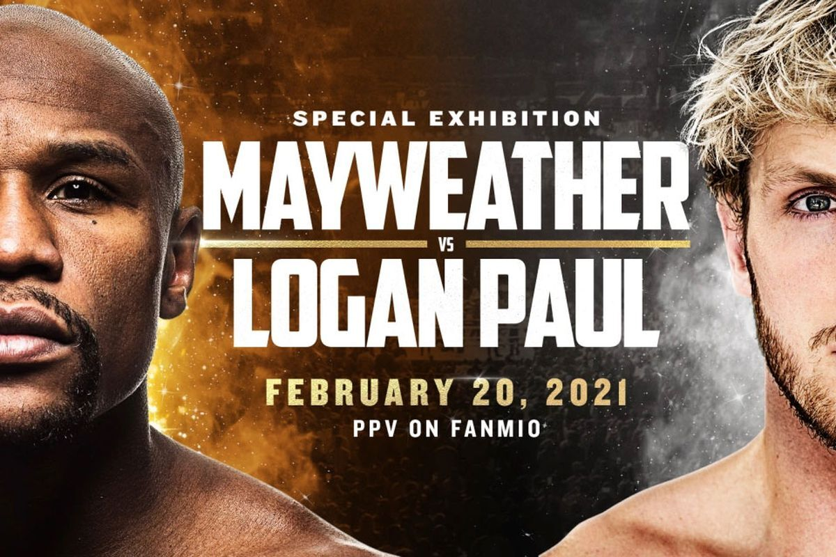 Floyd Mayweather vs Logan Paul is set for February