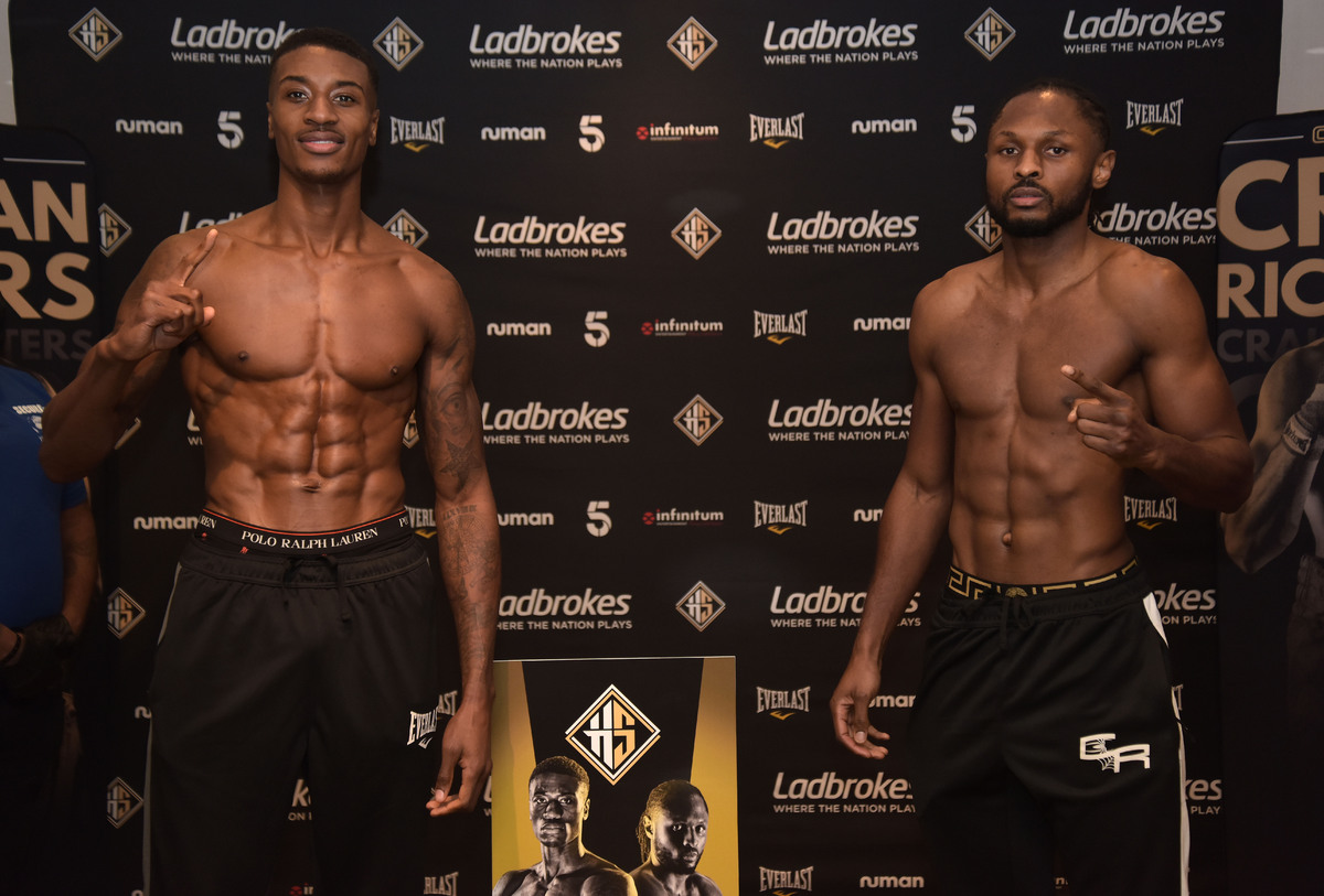 Shakan Pitters vs Craig Richards weigh-in