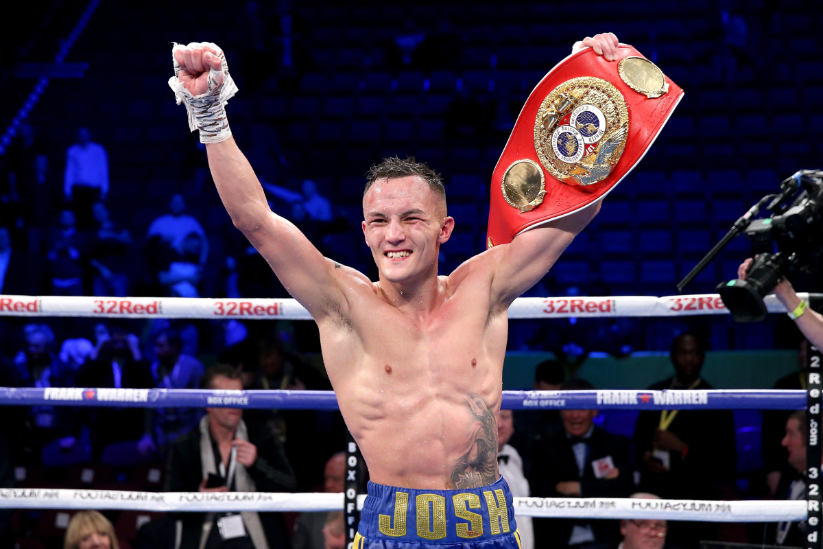 Josh Warrington vacates IBF title to pursue Xu Can