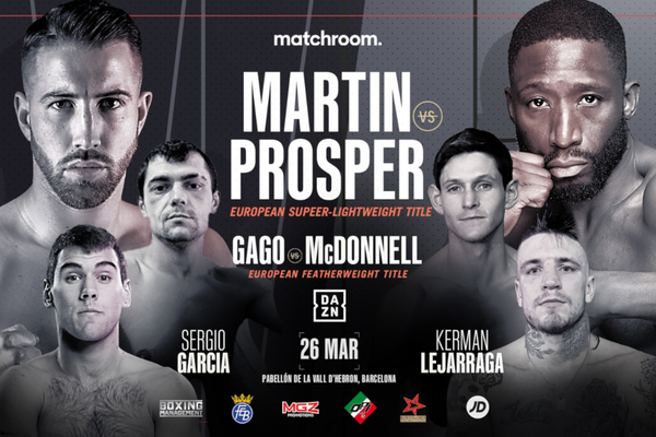 European title shots for Gavin McDonnell and Kay Prospere in Spain