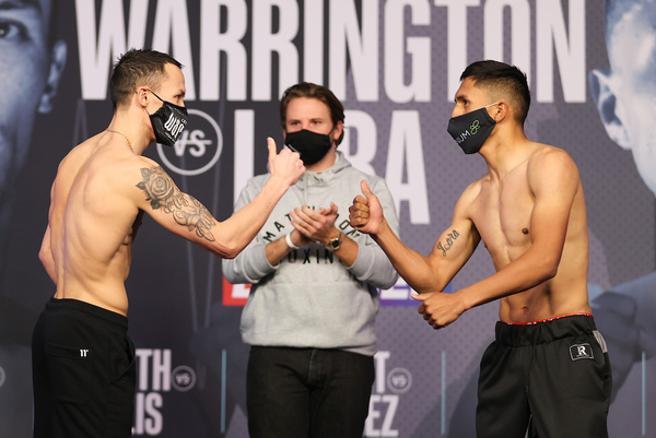 Josh Warrington vs Mauricio Lara weights, TV channel, running order & undercard