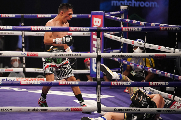 Josh Warrington shockingly and brutally upset by huge underdog Mauricio Lara